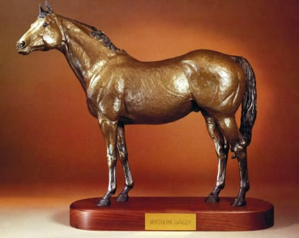 """Northern Dancer"" Cold Cast Bronze, Edition of 850, 16 x 20 inches, 12 lbs, Signed & Numbered"