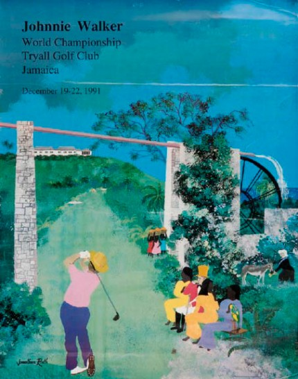 Johnnie Walker World Championship Tryall Golf Club Jamaica December 19-22, 1991