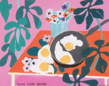 """Oeufs Frits Matisse"" Fine Art Limited Edition, 24 x 30 inches, Signed, Stamped with the seal of The Jonathan Routh Collection"