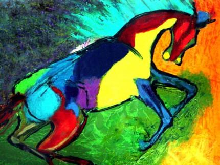 Harlequin Horse