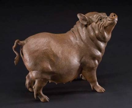 """""""Petal"""" Bronze, Edition of 25, 23 x 34 x 14 inches, Signed"""
