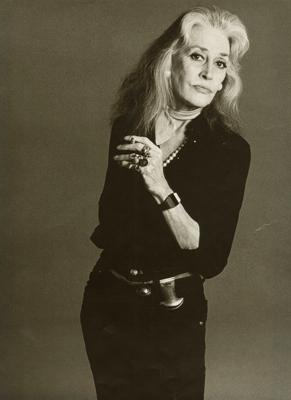 """""""Bridget Bate Tichenor, 1978"""""""