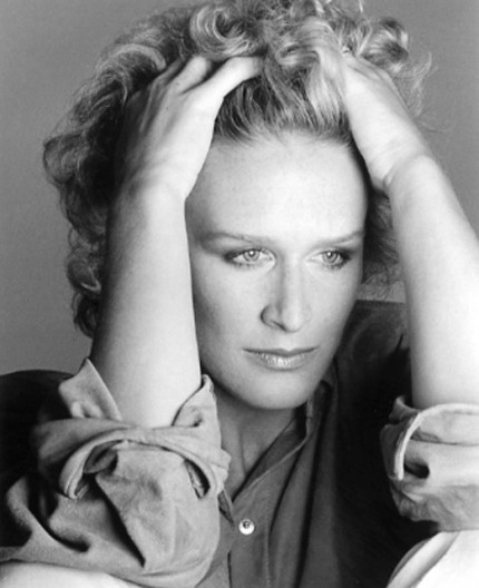"""Glenn Close, 1984"" Hollywood Women Portfolio, 20 x 24 inches, Individual Price: $1,250, Portfolio of ten portraits: $4,950"