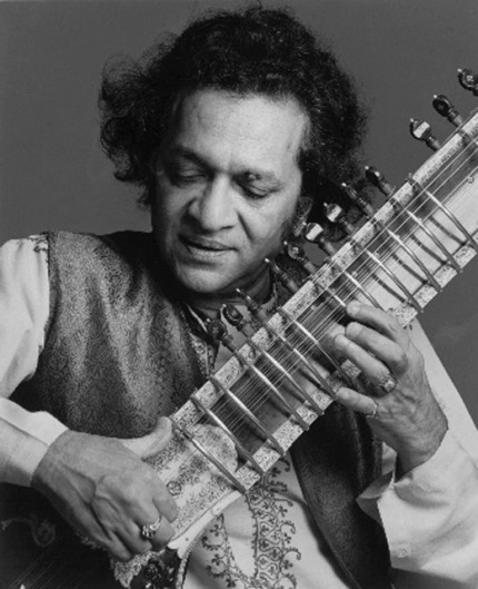 """Ravi Shankar, 1977"" Song Portfolio, 20 x 24 inches, Individual Price: $575, Portfolio of ten portraits: $4,950"