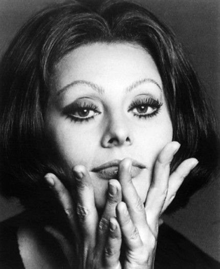 """Sophia Loren, 1971"" Hollywood Women Portfolio, 20 x 24 inches, Individual Price: $1,250, Portfolio of ten portraits: $4,950"