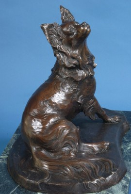 """Belle"" Bronze, Edition of 25, 18 x 17 x 15, Signed"