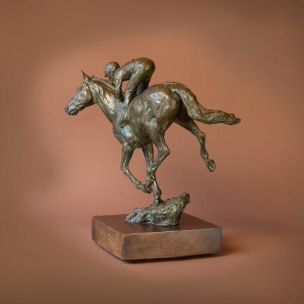 """""""Jockey"""" Bronze"""