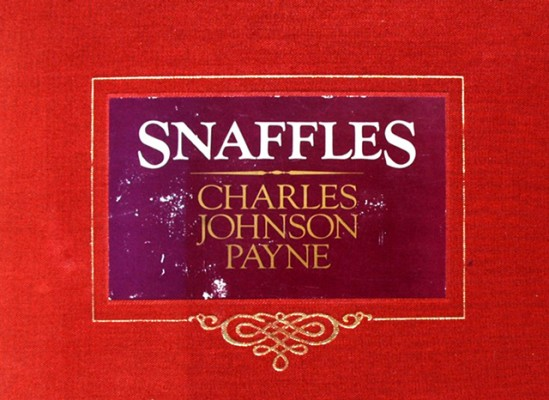 "The Snaffles ""Red Book"" is a selection of Hunting & Racing prints by Snaffles that was compiled by Mark Flower in 1983. It is a limited edition of 750 produced by Millwood Press Ltd in New Zealand."