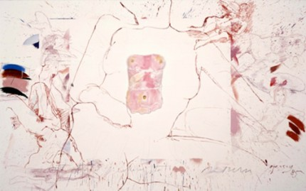 """Return to Return, (Don't do it)"" 1985, 84 x 64 inches"