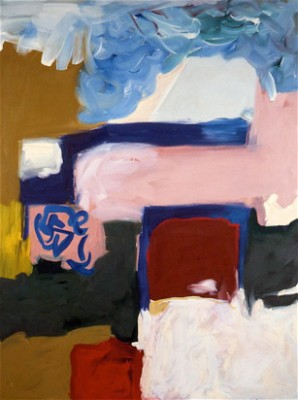 """Probable Location of Erato"" 1978, 66 x 84 inches"