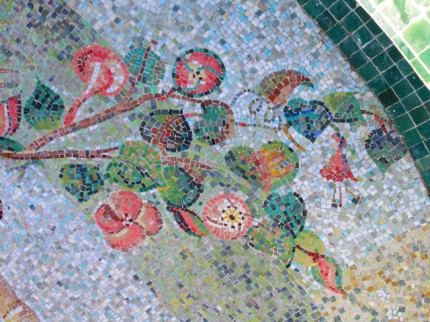 Secret Garden Mosaic (Detail)