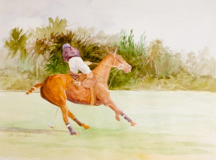 """Polo I"" MISSING from Chisholm Gallery, LLC"