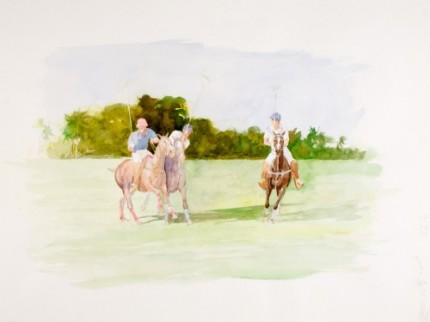 """Polo II"" MISSING from Chisholm Gallery, LLC"