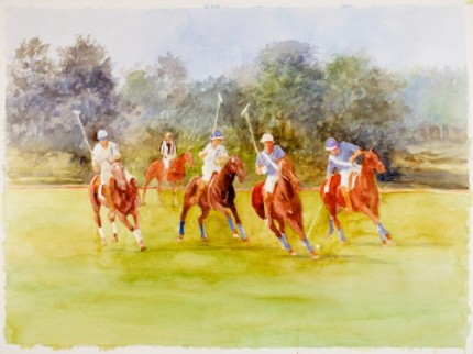 """Polo III"" MISSING from Chisholm Gallery, LLC"