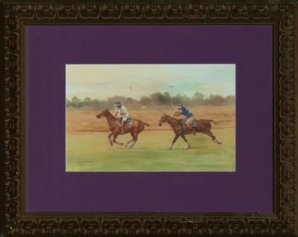 """Polo V"" MISSING from Chisholm Gallery, LLC"