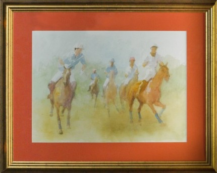 """Polo VI"" MISSING from Chisholm Gallery, LLC"