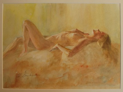 """Reclining Nude"""
