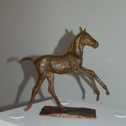 """Foal II"" Edition: 2/8, Bronze, 8.5 x 10.5 inches, Signed"