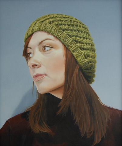 Julia, oil on canvas, 85 x 100cm