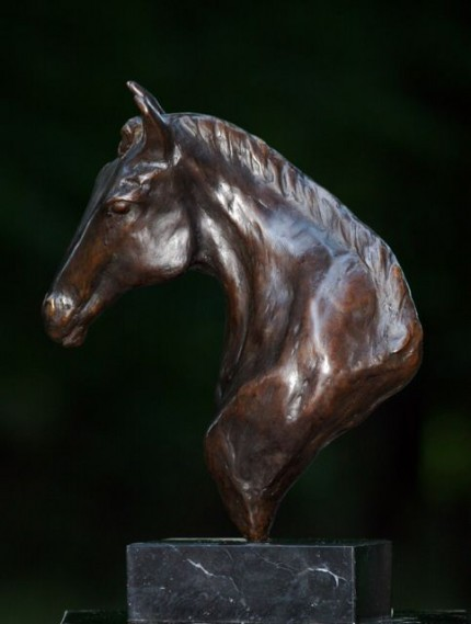 """""""The Prophet"""" Bronze, 2 A/P, Edition of 15, 14 x 11 x 5 inches"""