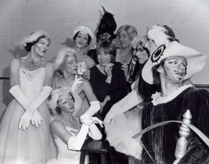 Shirley MacLaine and the Ballets Trockadero