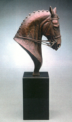 """Aristocrat"" Bronze, Edition of 30, 13 x 11 x 3.5 inches"