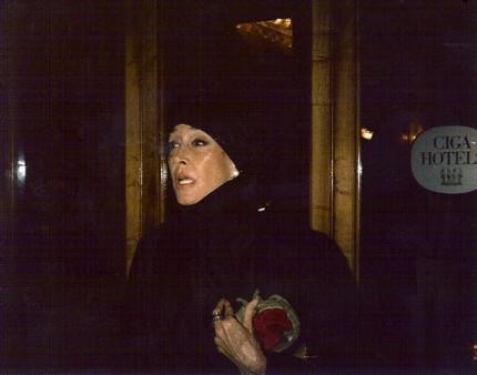 Bridget Bate Tichenor, Venice, Italy Summer of 1978 Photograph by Jeanne Suydam Chisholm