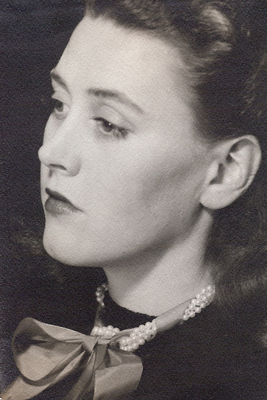 Bridget Bate Chisholm Tichenor 1941, by Man Ray, Collection of Jeanne Suydam Chisholm