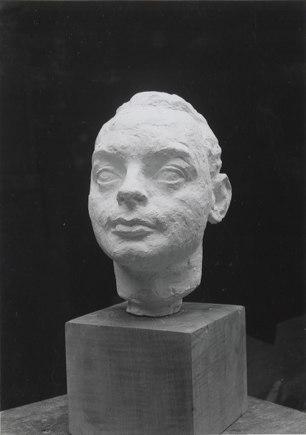 "Isamu Noguchi, (Japanese, 1904-1988) ""Portrait of Hugh Chisholm"""
