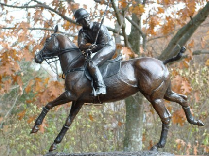 "Liza Todd Tivey, American Contemporary ""Polo Player"" Bronze, Edition 3 of 10, Signed, Dated, and Numbered"