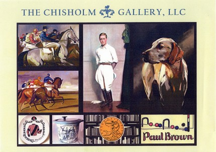 Polo Painting Collection, Courtesy of Chisholm Gallery, LLC