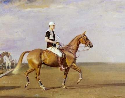 "Sir Alfred James Munnings, P.R.A., British (1878-1959) ""The Polo Player"" 1927"