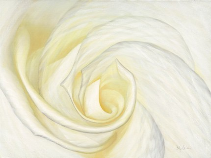 """""""Illuminata 11"""" Oil on canvas, 30 x 40 inches, Signed lower right"""