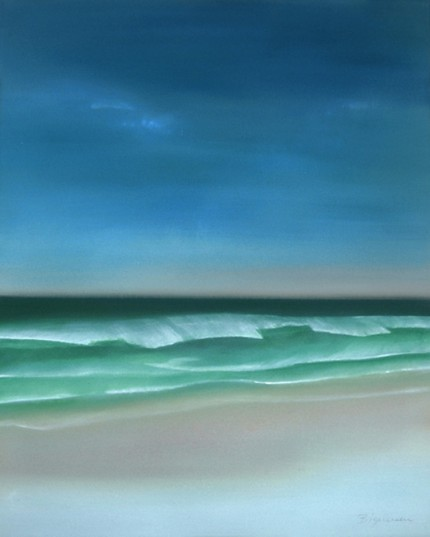 """""""Cape Cod"""" Oil on canvas, 30 x 24 inches, Signed lower right"""