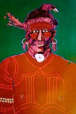 "Fritz Scholder ""Fritz Scholder: 1776 Indian"""
