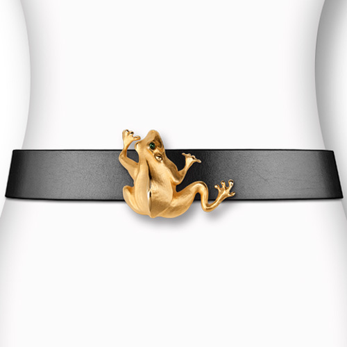 Fabulous Frog - Gold