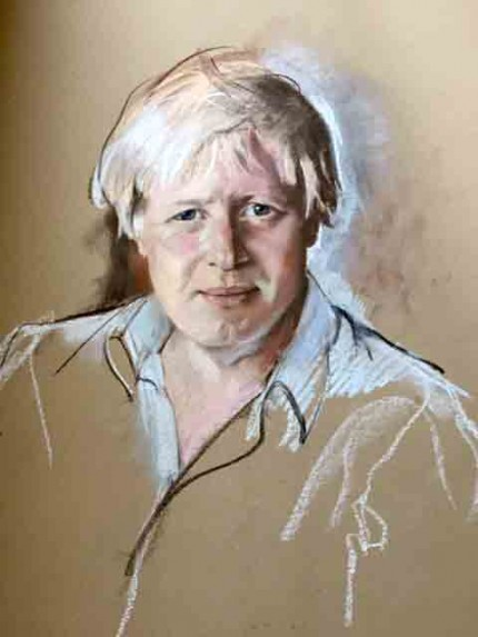 """Portrait of Boris Johnson, Mayor of London"""