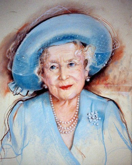 """Queen Elisabeth II, The Queen Mother"" October 25th, 2001"
