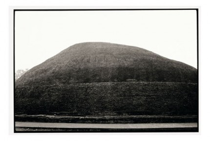 """Where Buddha was cremated, Kushinagar"" Gelatin silver print, Edition of 25, Paper size: 50 x 60 cms, Also available in 40 x 50 cms & 76 x 100 cms"