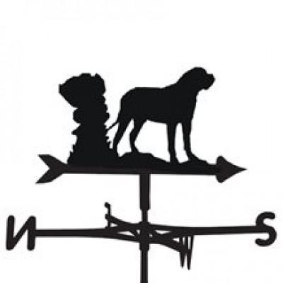 Bull Mastif Weathervane