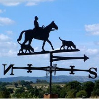 Traditional Charlie Hunting Weathervane