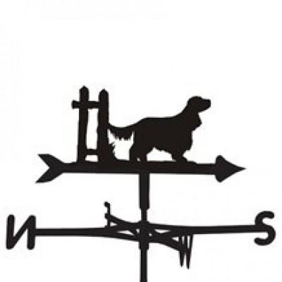English Cocker Spaniel Weathervane