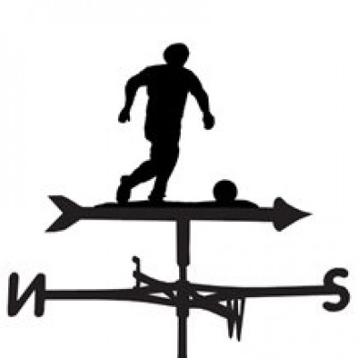 Football (Soccer) Weathervane