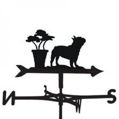 French Bulldog Weathervane