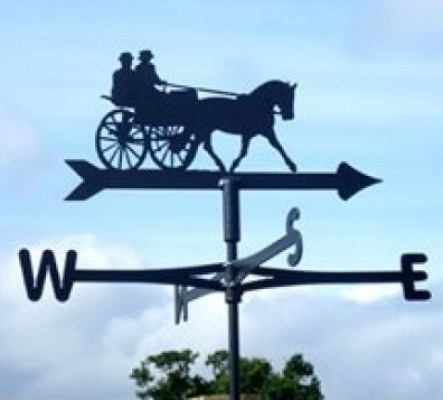 Horse Carriage Weathervane