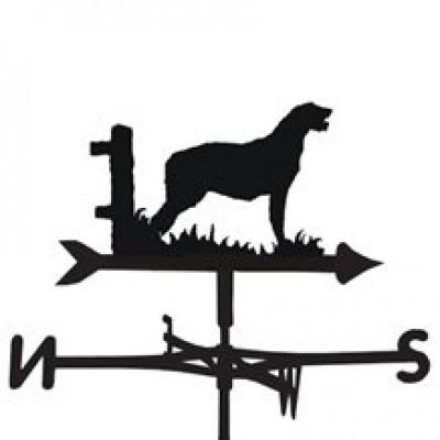 Irish Wolfhound Weathervane