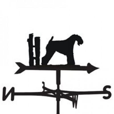 Kerry Blue Terrier Weathervane
