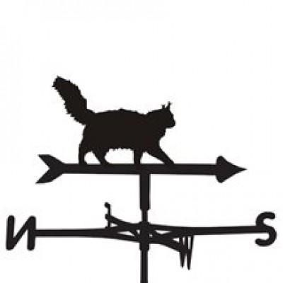 Maine Coon Cat Weathervane