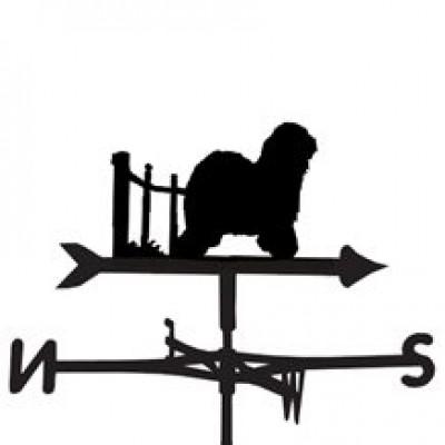 Old English Sheepdog Weathervane