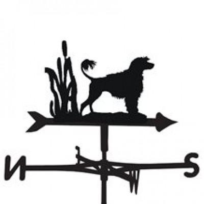 Portugese Water Dog Weathervane